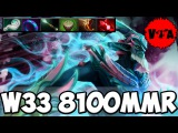 Dota 2 - W33 8100 MMR Plays Leshrac vol #3 - Ranked Match
