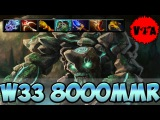 Dota 2 - W33 8000 MMR Plays Tiny vol #2 - Ranked Match