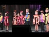 Новогодний концерт детских творческих коллективов в ДНТ. 2015 г.