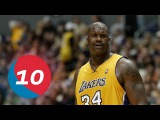 Shaquille O'neal Top 10 Plays of Career