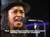 Abbey Lincoln in concert 1994