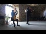 Niccolo Paganini - Sonata op.3, no 6 in e minor. LIVE