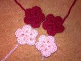 ♥♥♥Вязанные цветочки♥♥♥МК цветочек крючком♥♥♥Цветочек крючком +для начинающих♥♥♥