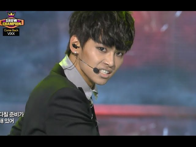 VIXX - VOODOO DOLL, 빅스 - 저주인형, Show Champion 20131120