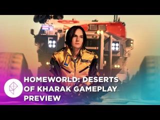 30 Minutes Of Homeworld: Deserts Of Kharak Gameplay