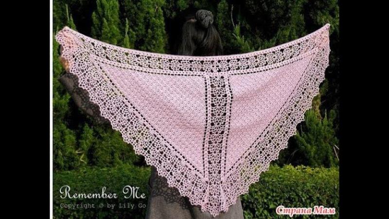 ШАЛЬ, СВЯЗАННАЯ КРЮЧКОМ - 2018 / SHAWL Crochet