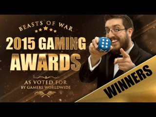 Beasts of War 2015 Gaming Awards: The Winners