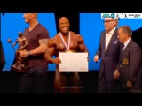 Phil Heath Winner Mr. Olympia 2016, Shawn Rhoden-2, Dexter Jackson-3, Мистер Олимпия 2016 Фил Хит
