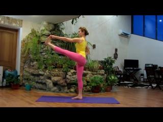 Укрепление мышц спины и ног. Балансы. Фитнес дома