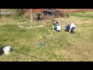 Having fun on Easter Sanday