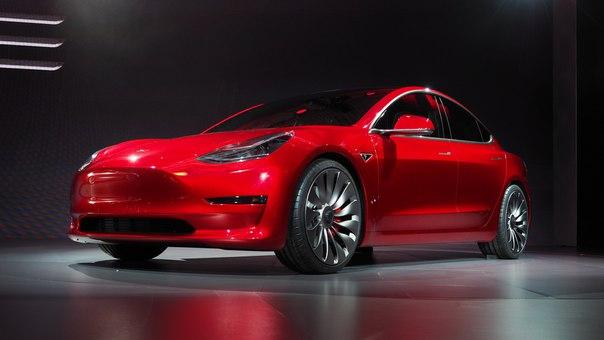 M1Rwllw-4lg Tesla представила бюджетную Model 3