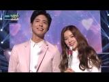 Park Bogum & Irene - One and Half   박보검  아이린 - 일과 이분의 일 Music Bank HOT Stage