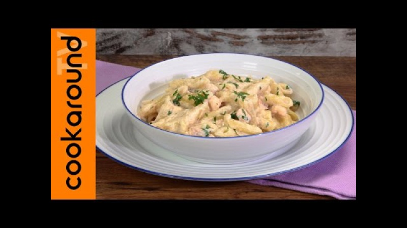 Penne al salmone fresco / Ricetta pasta con salmone