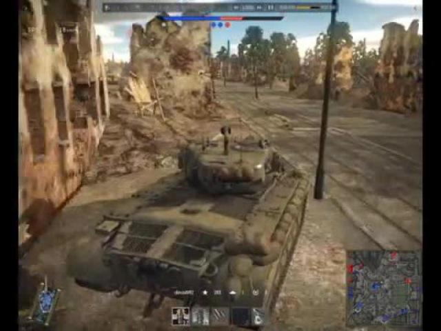 War Thunder Катка на M26