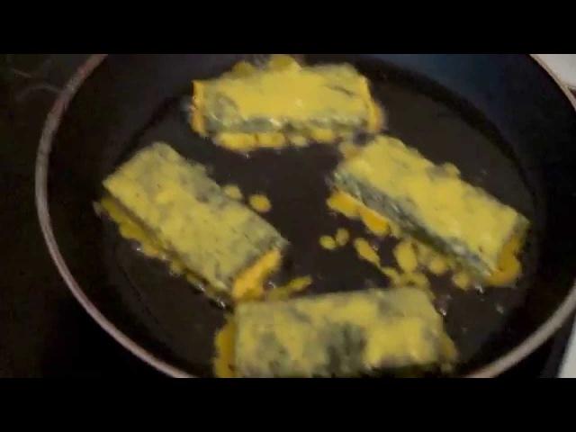 Как приготовить тофу а-ля жареная рыба. Веганский обед.