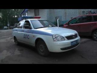 Пьяный водитель искал любимую девушку на Московской. Место происшествия 14.07.2016