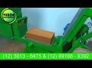 Maquina de tijolo ecologico e paver - (doze tijolos por minuto) - Verde Equipamentos