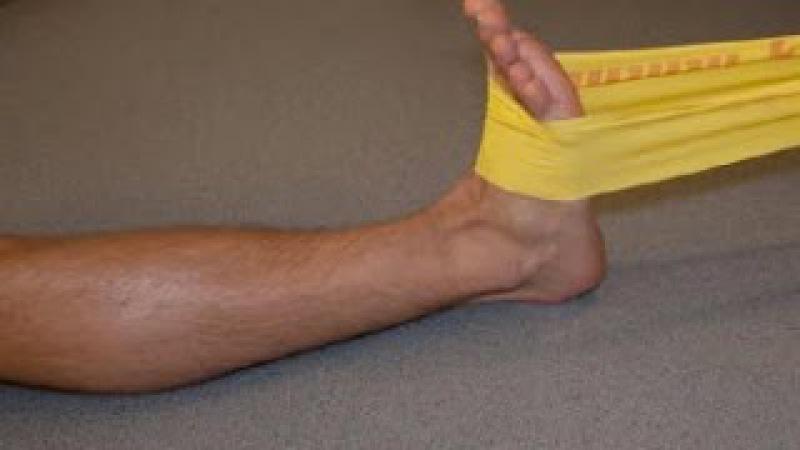 Как быстро восстановить голеностоп после травмы