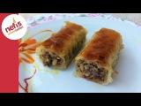 Cevizli Rulo Baklava | Kolay Baklava | Nefis Yemek Tarifleri