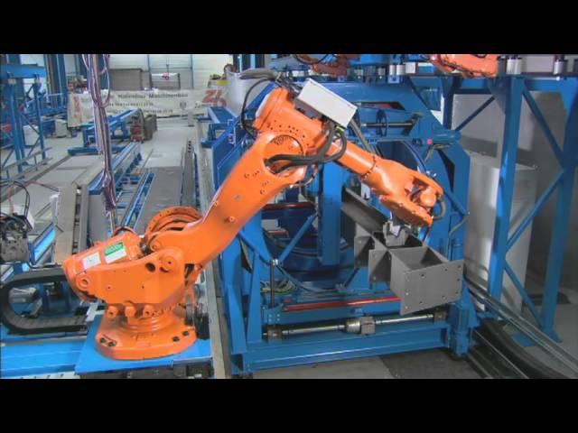 ZEMAN - сварочный робот для металлоконструкций