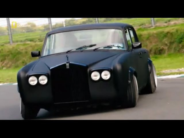 Настоящий СУПЕРКАР / Supercar Megabuild (Rolls Royce Silver Shadow 2)