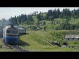 Дизель-поезд Д1-715 на станции Ворохта