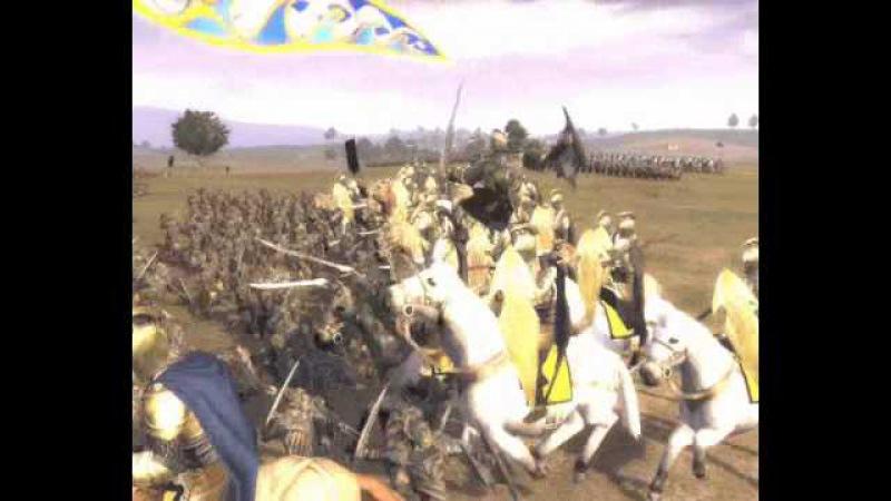 Third Age Total War High Elves vs Orcs