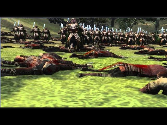 Third Age Cinematics - Silvan Elves vs Orcs