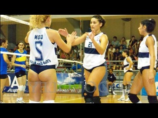 The Beauty of Women's Indoor Volleyball 2016 HD