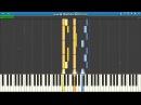Blumenkranz - Kill la Kill Piano Tutorial Synthesia Animenz