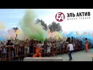 EA Diary #5 | Фестиваль красок, мастер-класс по хип-хоп, лайк красавцу