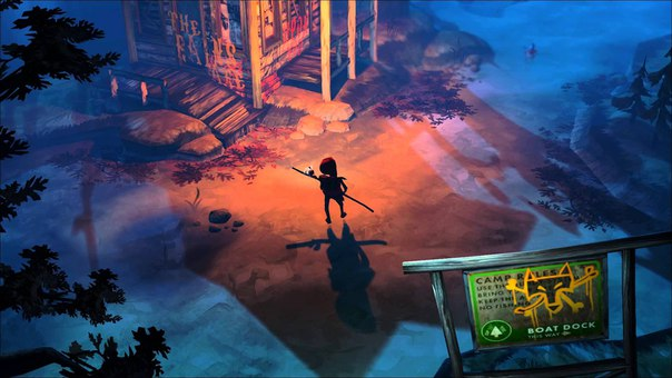 the flame in the flood jeux PC
