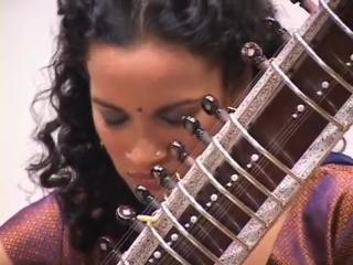 Anoushka Shankar plays Pancham Se Gara.