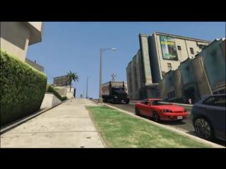 Jackass в гта5 (6 sec)