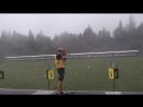 12 часть, смешанная эстафета,Чемпионат Украины по летнему биатлону среди юниоров и юниорок