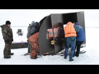 Травмированного рыбака спасали спасатели в Бердске