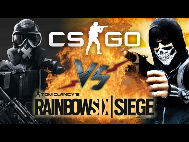 Рэп Баттл - Counter-Strike: Global Offensive vs. Tom Clancy's Rainbow Six: Siege
