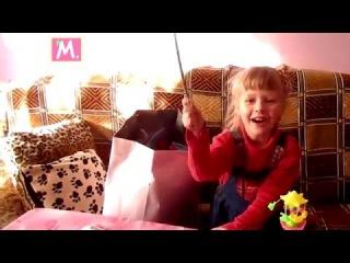 Unboxing gifts from godmother Tatyana, распаковка посылки от крестной Тани
