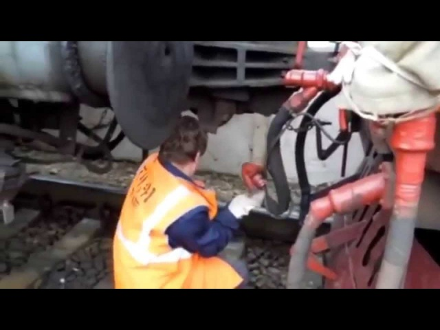 Опробование автотормозов пассажирского поезда