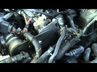 Регулировка фаз ГРМ на VW GOLF