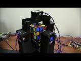 Сборка Кубика Рубика роботом за 1.1 секунды