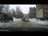 Момент ДТП на ул. 5-я Рабочая (11.02.2016)
