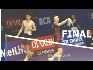 2016 Indonesia Badminton FINAL | LEE Yong Dae /YOO Yeon Seong vs CHAI Biao /HONG Wei