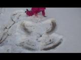 Снежный Ангел в Броннице!