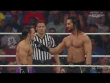 Seth Rollins vs Neville, WWE Monday NIght RAW 06.04.2015