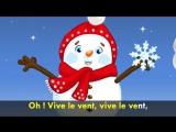 Vive le vent dhiver (chanson de Noël pour petits avec paroles)