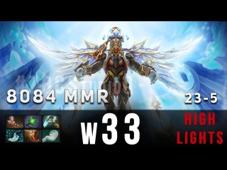 w33 playing Skywrath Mage | Ranked Match | 8038 MMR | Gameplay | Highlights | HD 60fps