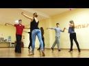 Урок движения. Парный танец Хастл. Игорь Мухин и Виктория Томилова