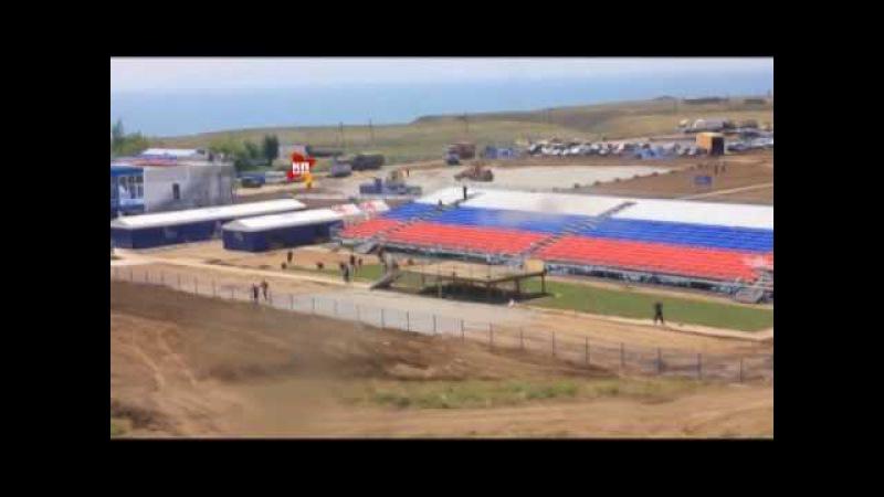 Как выглядит полигон Чауда в Крыму перед Авиадартс-2016_26.05.2016