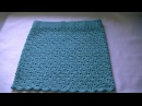 Вязание ажурной летней юбки крючком.Knitting openwork crochet skirt summer